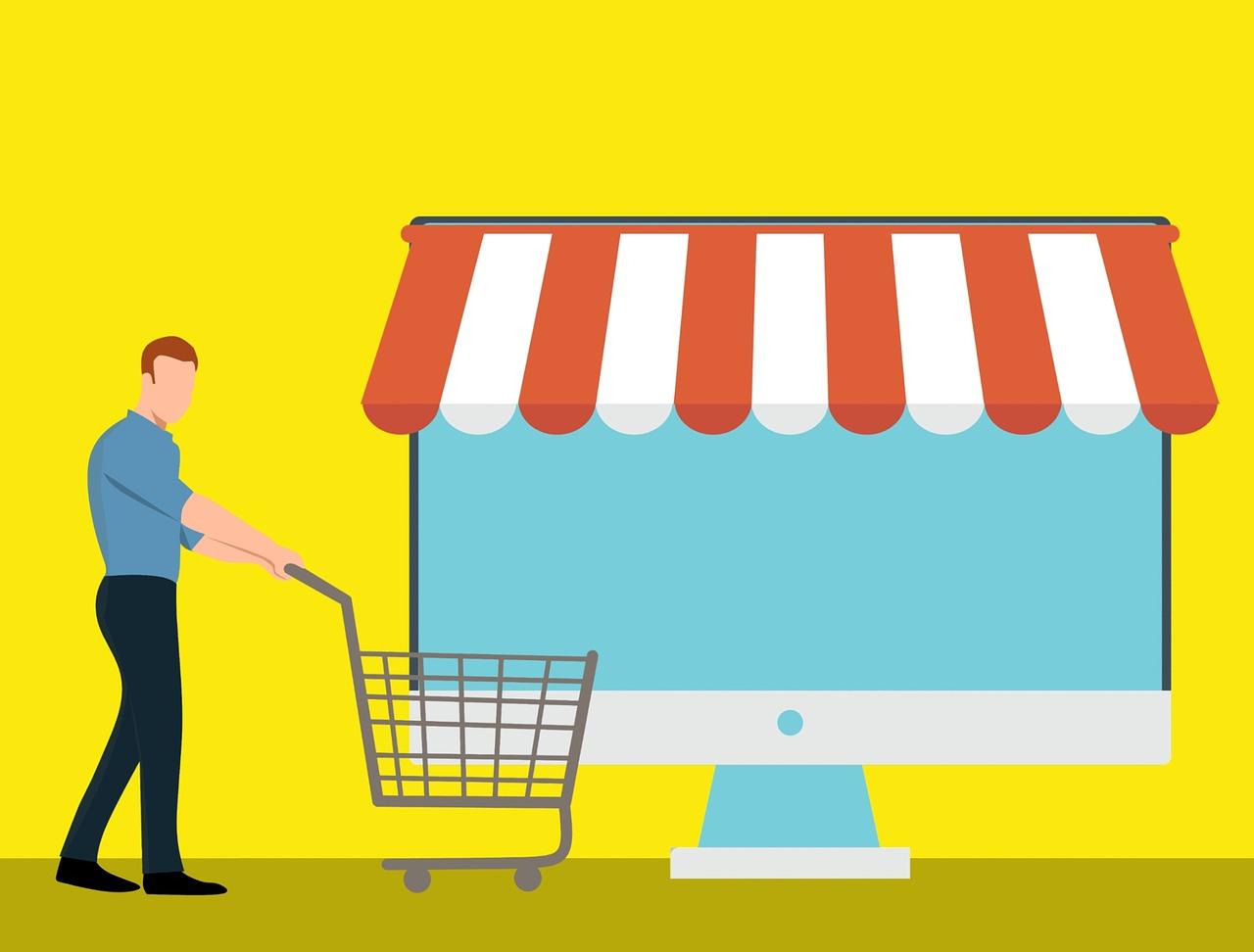 Електронните магазини, които нямат задължение да издават касов бон, не са задължени да се обявят в НАП